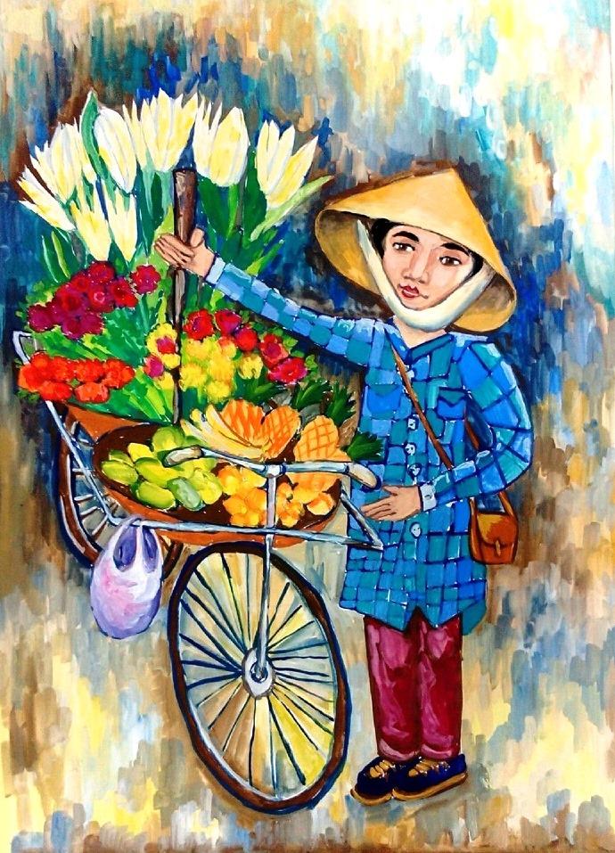 конкурс рисунка я рисую вьетнам